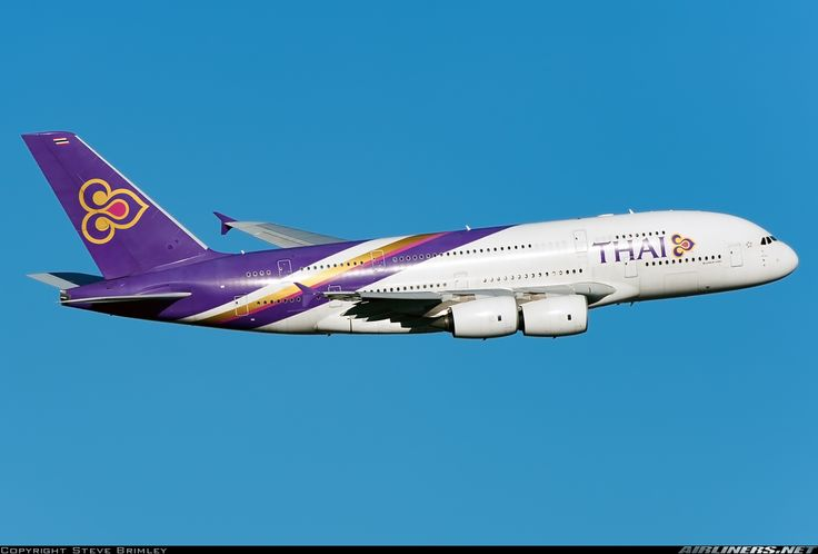 Airbus A380-841 - Thai Airways International | Aviation Photo #4128395 | Airliners.net