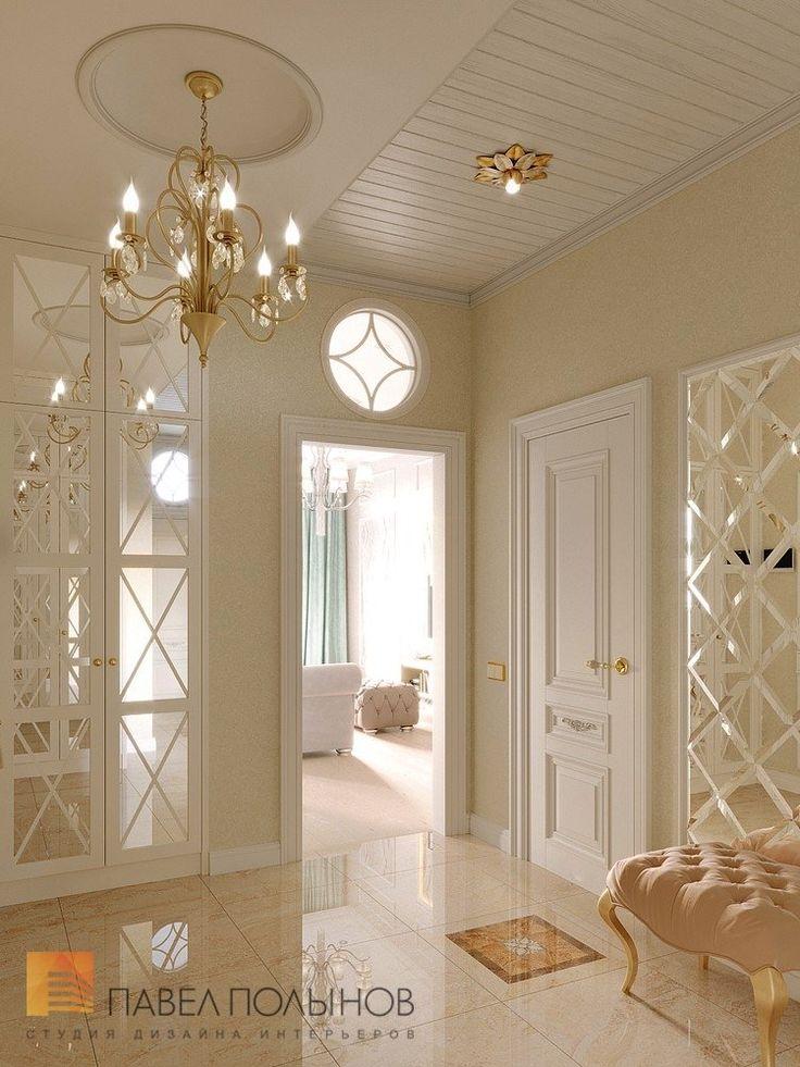 Фото интерьер прихожей из проекта «Дизайн трехкомнатной квартиры в классическом стиле, ЖК Аристократ, 78 кв.м.»