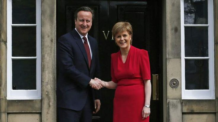 Cameron 'Happy' To Consider Sturgeon Proposals