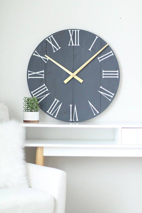 2530 wall clock Chalk navy paint