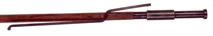 A handgonne with serpentine matchlock. The Rifle Shoppe, Inc. USA