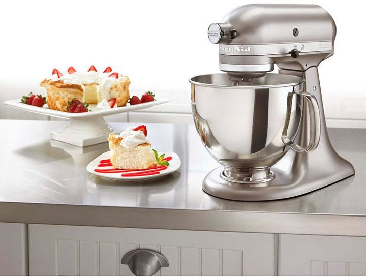 Build a better kitchen with the KitchenAid Architect tilt-head stand mixer. This kitchen classic is updated with a new, sleek finish and features 10 speeds of professional mixing power to help you tackle every task with epicurean enthusiasm - from kneading to whipping to mixing and beyond. #Ad