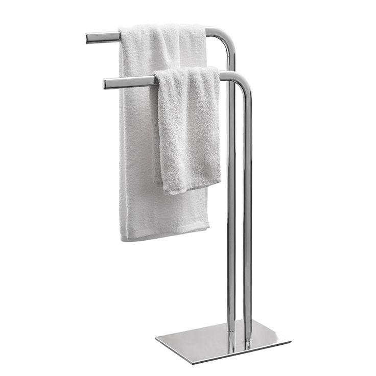 Handtuchhalter Chrome - Metall - Silber