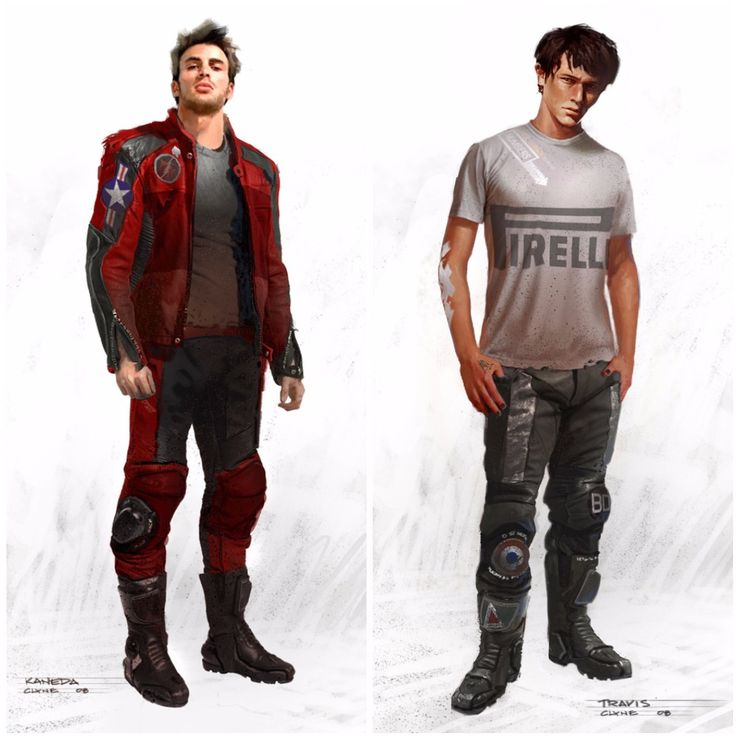 The idea of a live-action American remake of the seminal anime movie Akira has always seemed like a disaster in the making to me, and the fact that the movie has languished in various forms of development hell seems to corroborate that idea. But after seeing this concept art of Chris Evans and Joseph Gordon-Levitt in the Kaneda and Tetsuo roles, I almost want to change my mind.