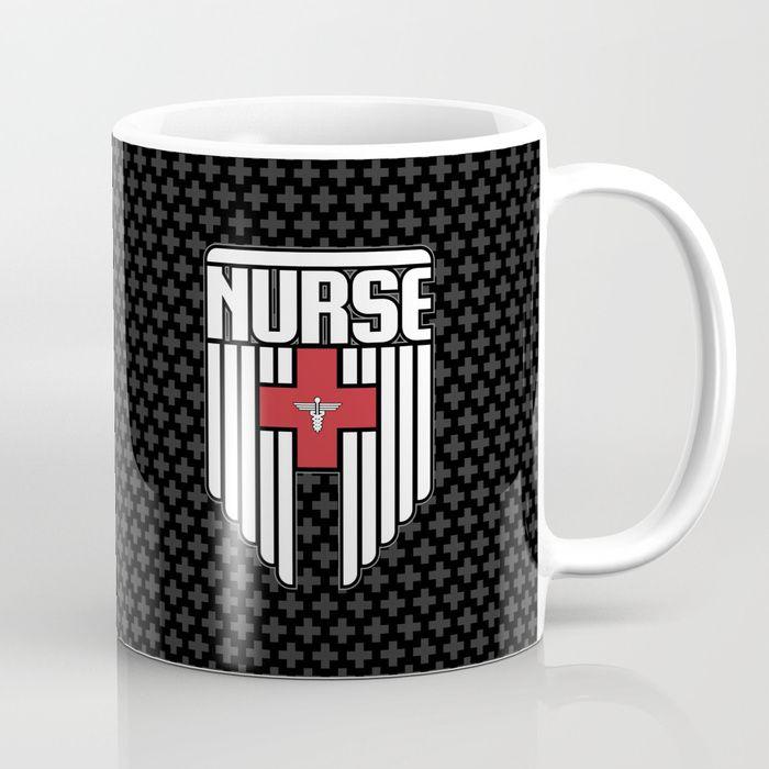 Nurse Shield Coffee Mug