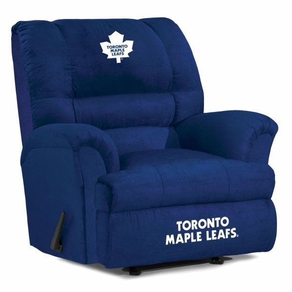 Toronto Maple Leafs NHL Big Daddy Recliner Chair/Furniture
