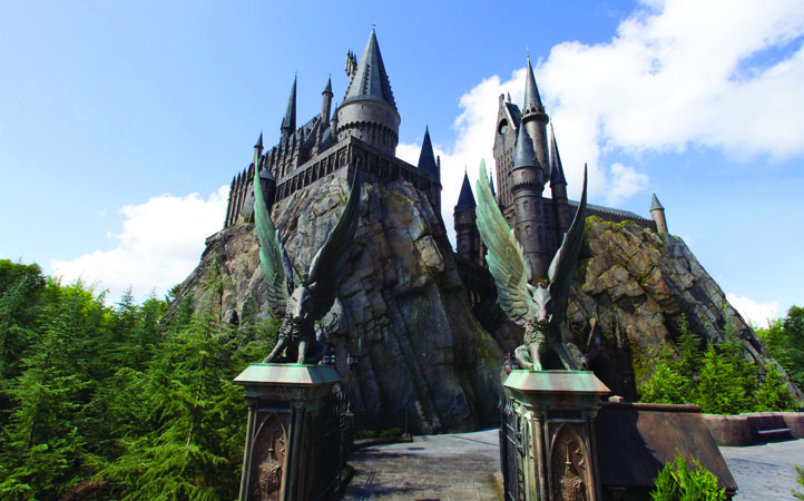 Hogsmeade Castle at Universal's Islands of Adventure