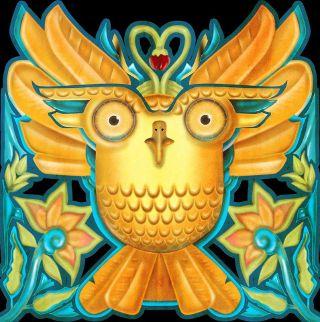 vividowlcoloring.com logo