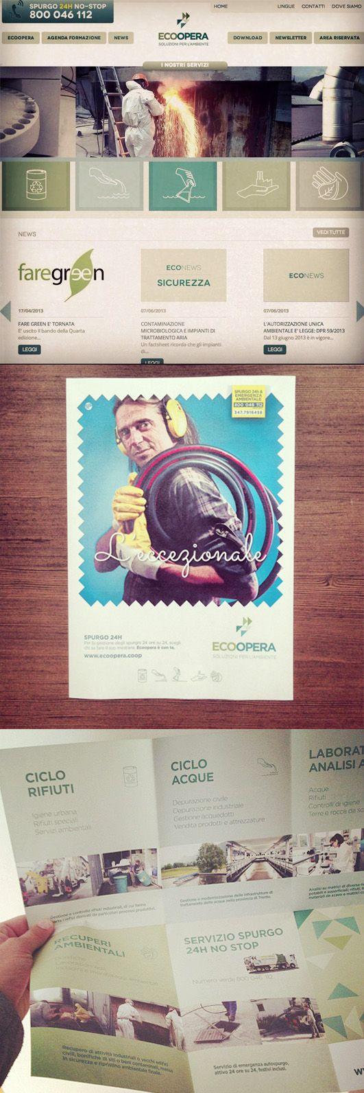 Progetto di #comunicazione #creativa per ECOOPERA.