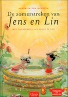 De zomerstreken van Jens en Lin. Vijftien verhalen over de belevenissen van Jens (6) en zijn buurmeisje Lin in de zomer. Met achterin zomerrecepten en knutseltips. Voorlezen vanaf ca. 5 jaar, zelf lezen vanaf ca. 7 jaar.