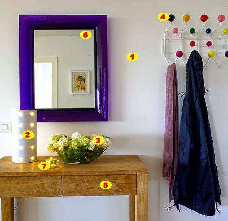 25 best ideas about feng shui para hall de entrada on - Recibidores feng shui ...