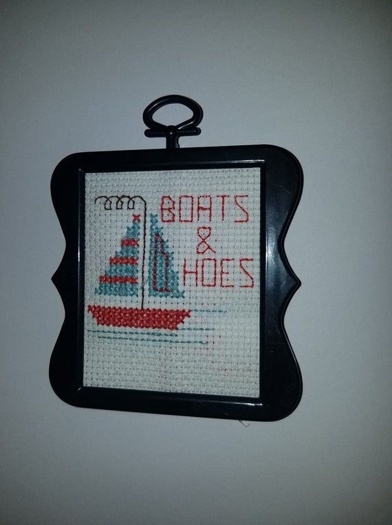 Boats and Hoes Magnet