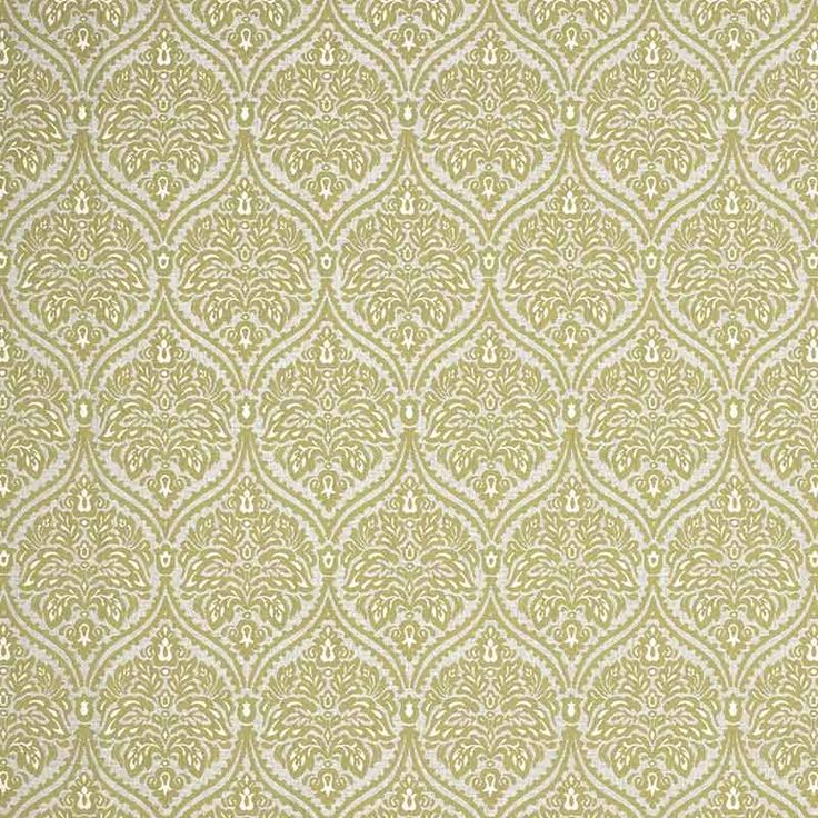 Warwick Fabrics : ASHWICK, Colour CITRUS