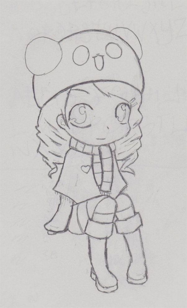 Resultado De Imagen Para Dibujos Lindos Dibujos Kawaii Como Dibujar Cosas Chibi Anime