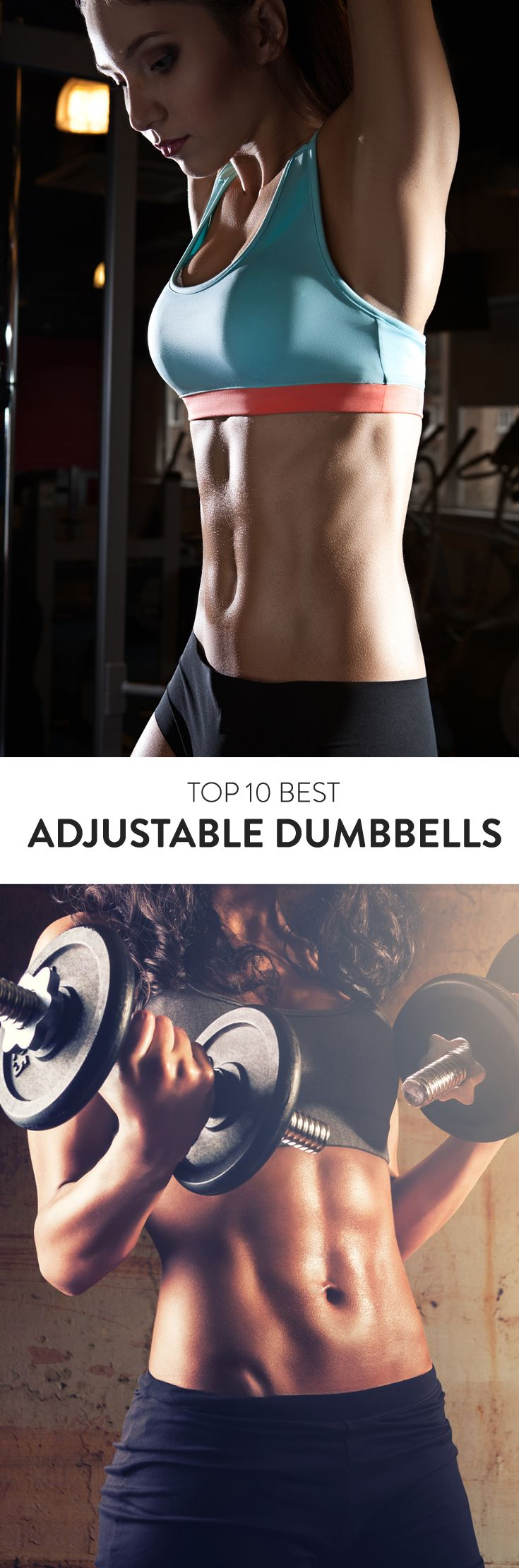 Tone your arms in or out of the gym with these Top 10 Best Adjustable Dumbbell