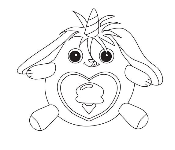 Rainbocorns Coloring Pages Animationsa2z Coloring Pages Farm Animal Coloring Pages Animal Coloring Pages