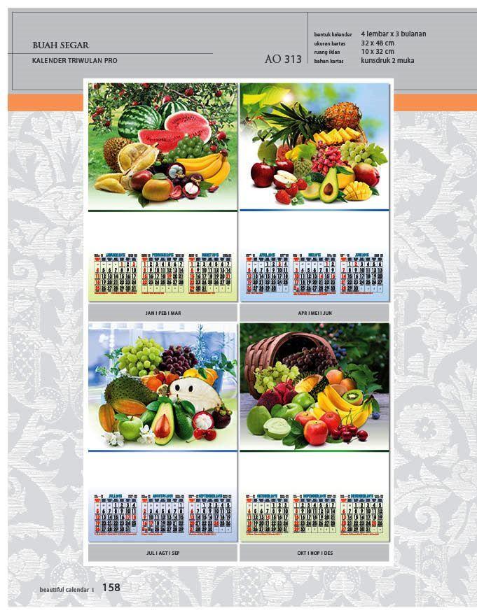 Kalender 2015 AO - Triwulan 3 Bulanan - Free Download Jpg Thumbnails Quality Preview - Tema Foto Gambar Buah Buahan Segar