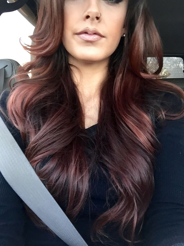 Got a hair coloring addiction like i do maroon hair is perfect for fall follow me on insta - Ombre hair marron ...