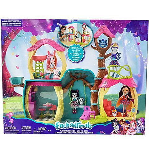 Enchantimals: Panda babaház szett - Mattel