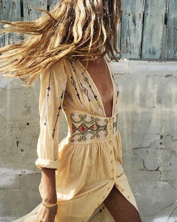 Comment porter le look boheme – Bijoux fantaisie tendance cadeaux pas cher