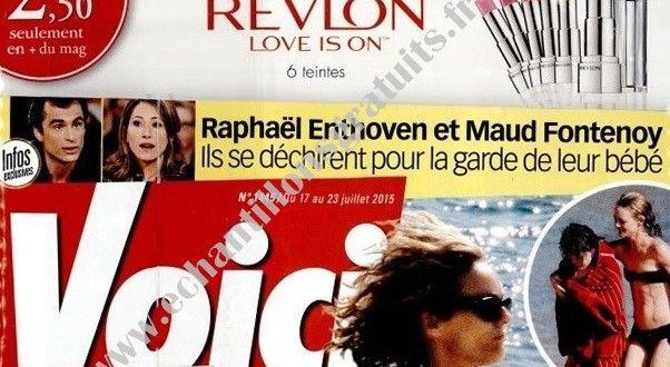 Rouge à lèvres Revlon Ultra HD avec le magazine Voici du 17 juillet   Echantillons gratuits, réductions et cadeaux