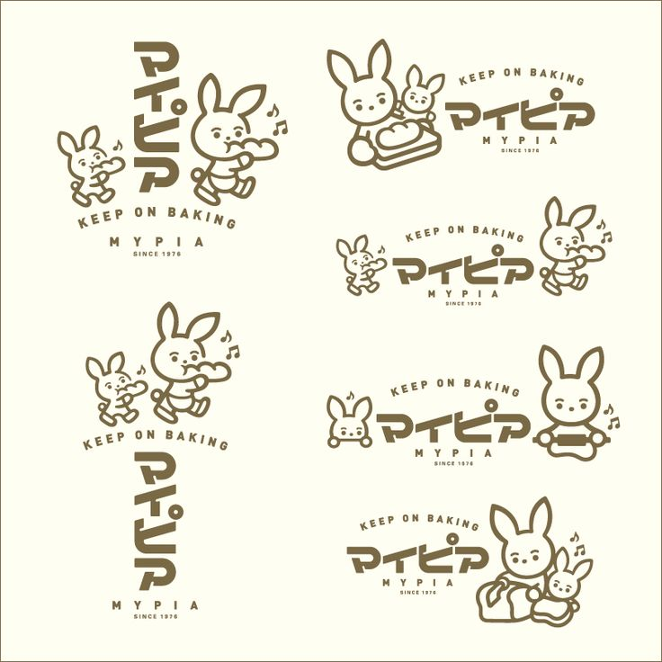 Maniackers Design Logo Chara   ロゴ キャラ