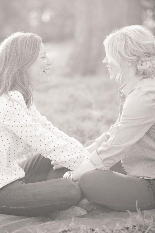 engagement photos. Kristen & Alli