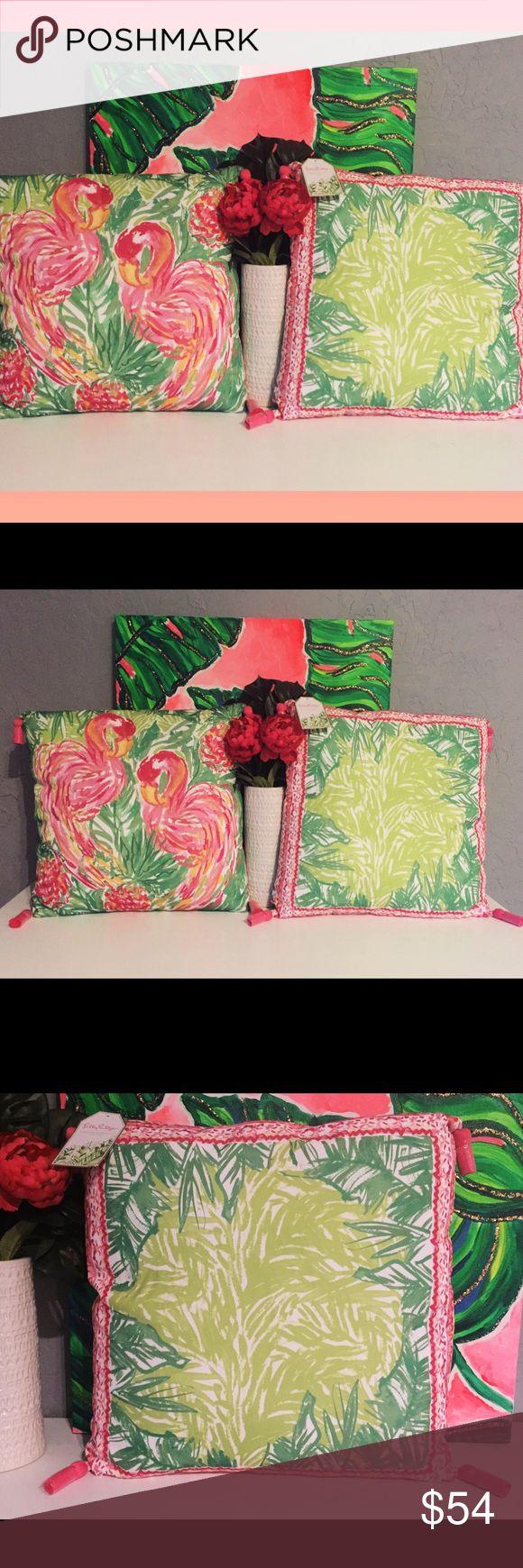 Lilly Pulitzer Pillow XL Flamingo Patio Home Decor