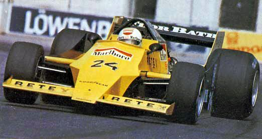 Gianfranco Brancatelli - 1979 - US GP Long Beach - Merzario A2