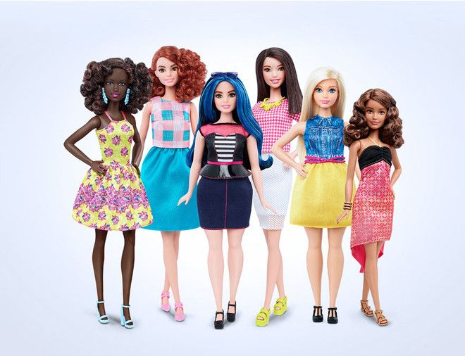 Оказывается, в современном мире не только женщины с формами вынуждены отстаивать свое право называться красивыми, но и куклы.