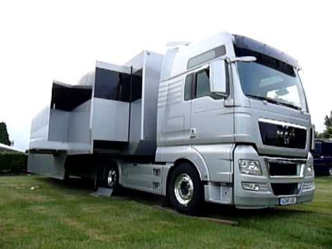 "Visibly Loud ""Articulated Dream"" Luxury Motorhome RV"