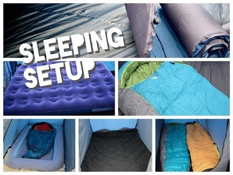 Family Camping Sleeping Tips