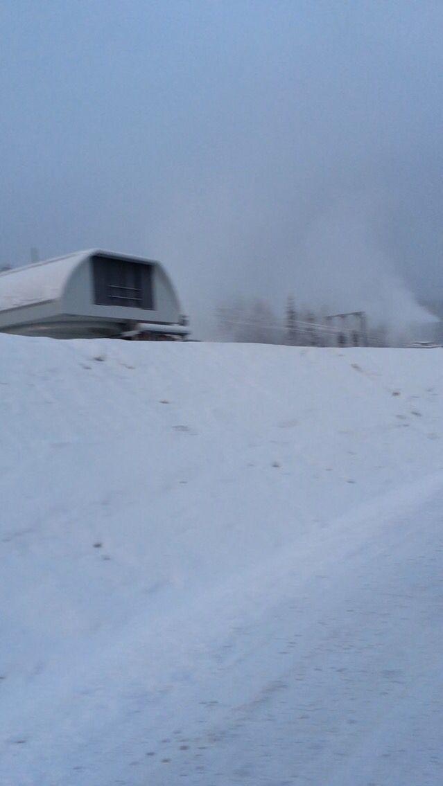 Nya liften i Branäs invigs 22 dec 2014
