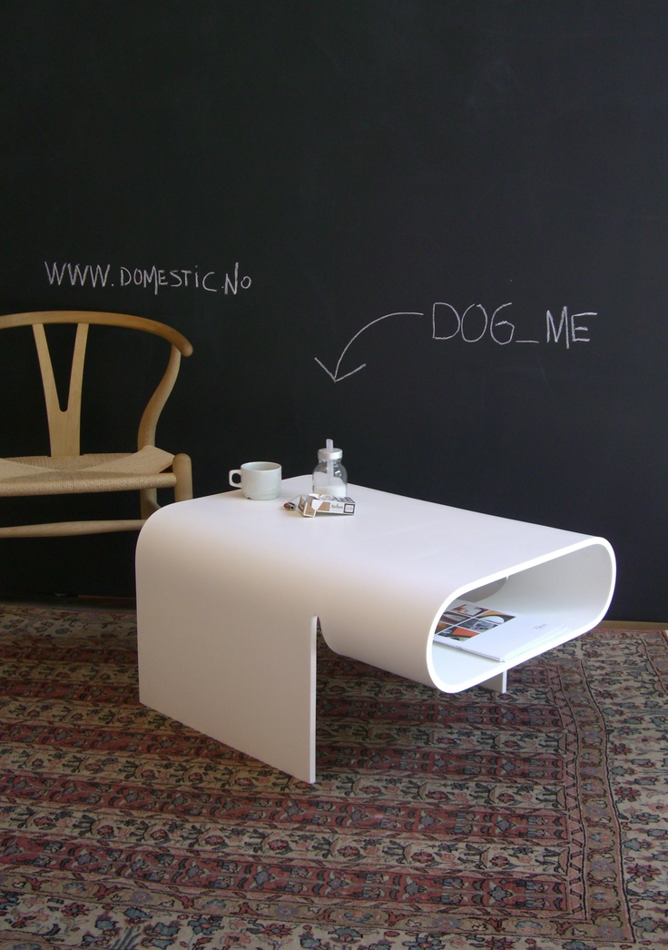 DOG cofeetable in corian
