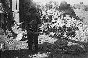 Walachei Rumänien 1941 Einheimische Bevölkerung Frauen & Kinder