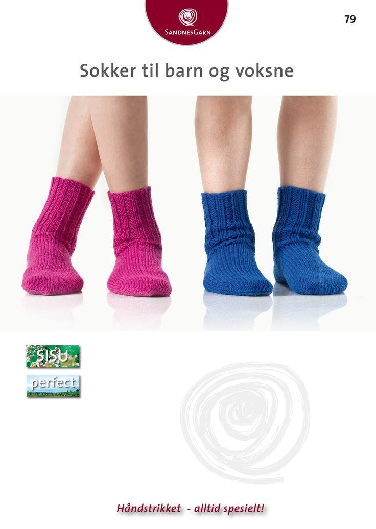 Oppskrift sokker