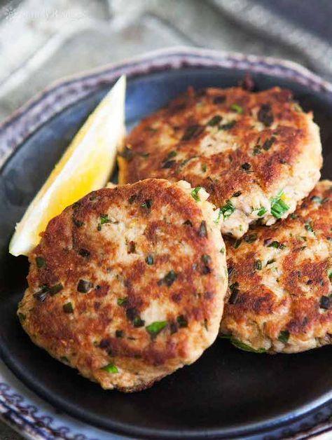 Recetas de hamburguesas ¡de atún!