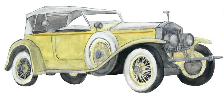 Gatsby Car: Book Cover Project