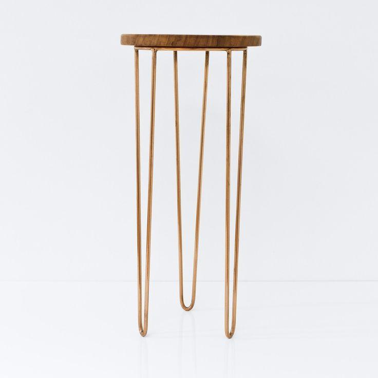 Aldama Side Tables - Copper