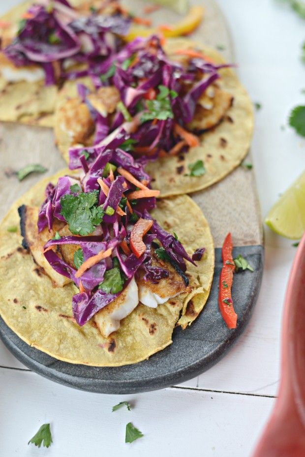 Chipotle-Lime Fish Tacos