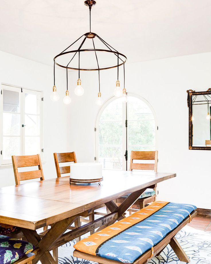 The California Casa You See In Your Dreams Dining Room