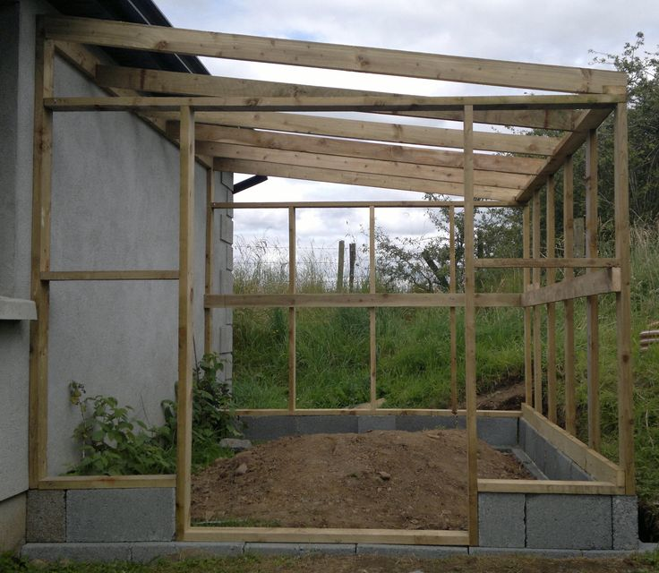 lean to greenhouses kits - Google Search