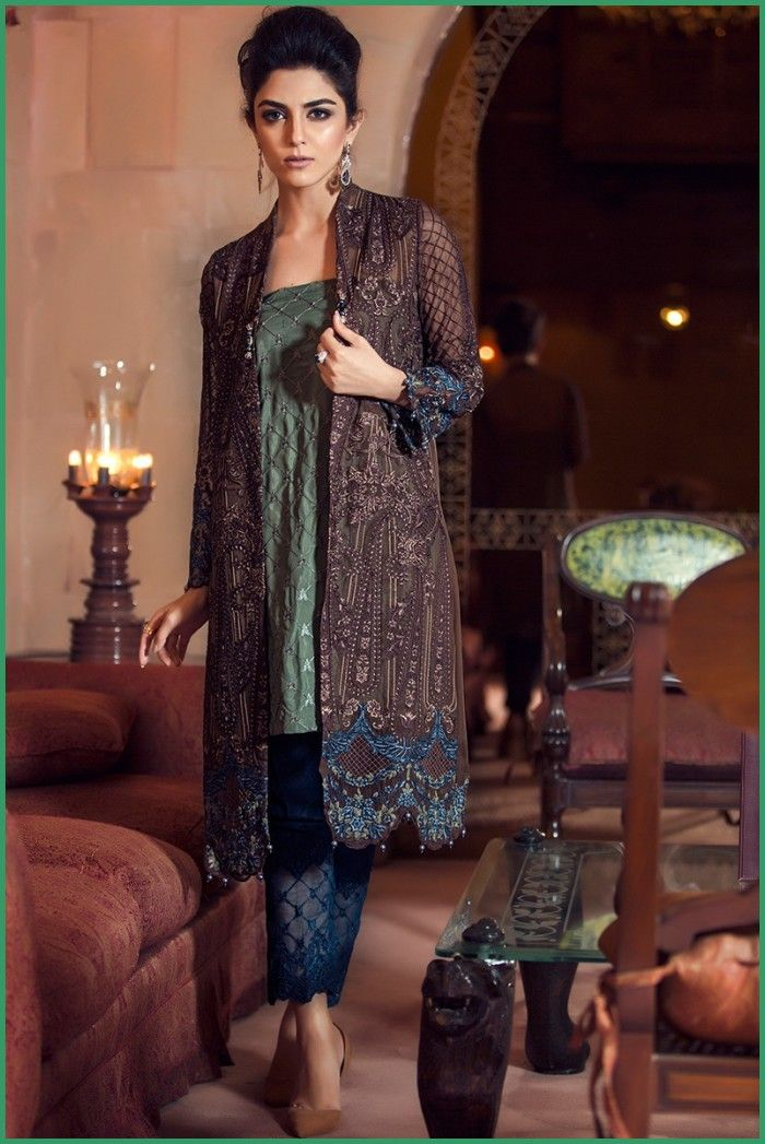 Maria B Eid Collection 2016 For ladies Evening Wear