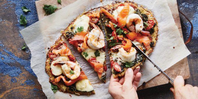 I Quit Sugar - Cauliflower Pizza Base