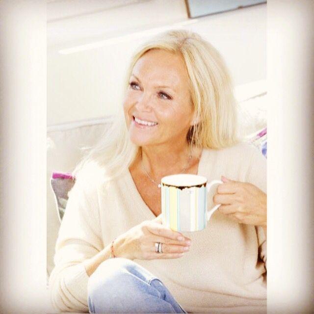 I am enjoying a cup of tea