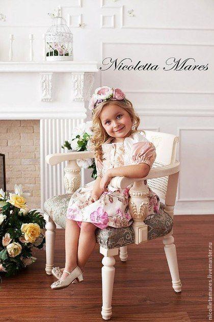 """Юбки ручной работы. Юбка """"Ma Cherie"""" из хлопка. Nicoletta Mares. Ярмарка Мастеров. Юбка летняя, для подружек невесты"""