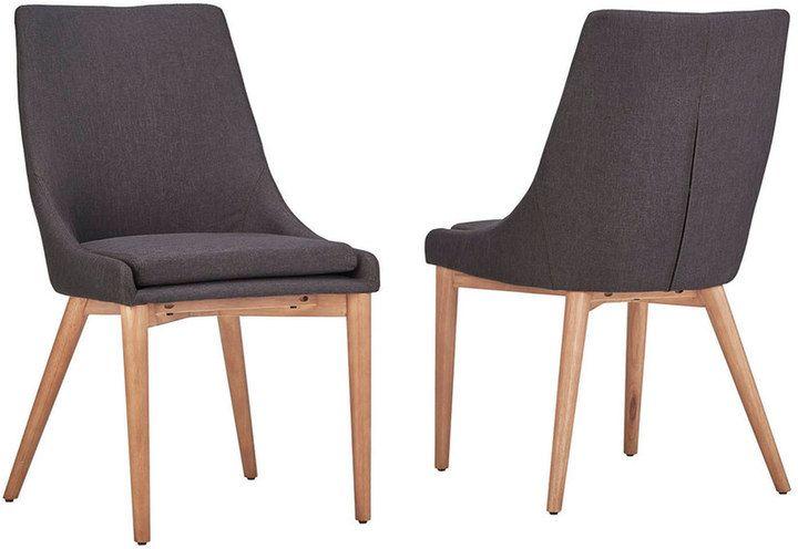 HomeVance Allegra Midcentury Dining Chair 2-piece Set