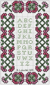 carnation alphabet sampler-freebie