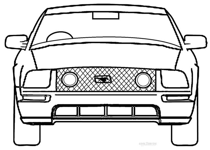 printable mustang coloring pages for kids cool2bkids lamborghini