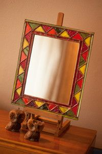 Creative Company | Classy Glass Art: African mirror